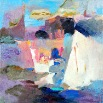 Setting Sail - oil on canvas - 14